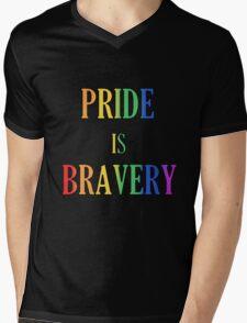 Pride is Bravery: Orlando 2016 Mens V-Neck T-Shirt
