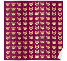 Pixel Panda! レッサーパンダ Poster