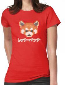 Pixel Panda! レッサーパンダ Womens Fitted T-Shirt