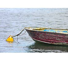 Resting on the moorings Photographic Print