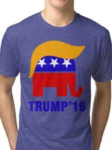 Trump 16 Hair Tri-blend T-Shirt