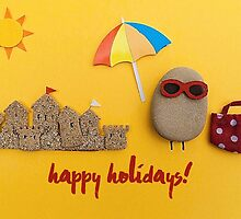 Happy Holidays - Summer by garigots