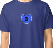 Threes have fleas Classic T-Shirt