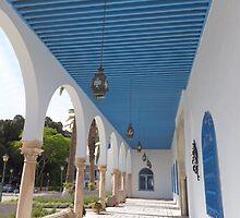 Verandah of a Tunisian Palace by katshe