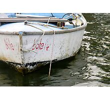 Little bote, Little boat Photographic Print