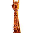 Orange Robot Arm by weirdbird