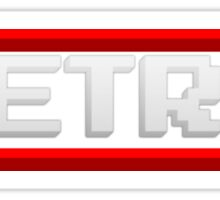 """RETRO"" NES-Inspired Graphic Sticker"
