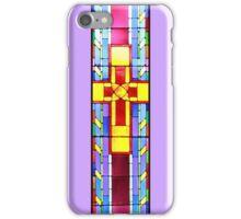 Crucifix - Magenta iPhone Case/Skin