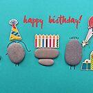 Happy Birthday - Pebbles party by garigots