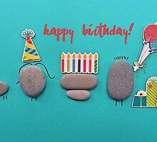 Happy Birthday - Pebbles party by garigots