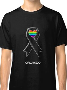 Solidarity with Orlando -- Gay Rights Classic T-Shirt
