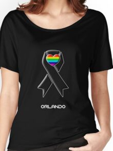 Solidarity with Orlando -- Gay Rights Women's Relaxed Fit T-Shirt