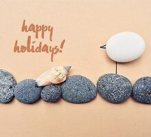 Happy Holidays - Summer Seagull by garigots
