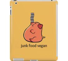 Junk Food Vegan iPad Case/Skin