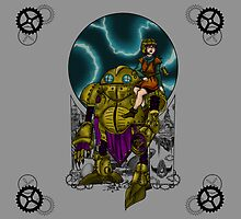 Lucca and Robo, pillow & tote by Nocturnarwhal