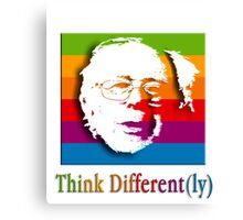 THINK DIFFERENT(LY) Canvas Print