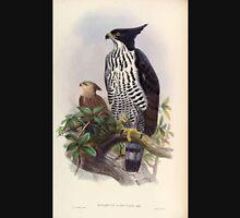 Birds of Asia John Gould 1883 V1 V7 010 Spizaetus Alboniger Unisex T-Shirt