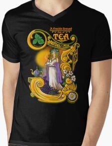 Tea Soothes the Mind Mens V-Neck T-Shirt