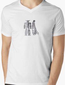 Grendizer Mens V-Neck T-Shirt