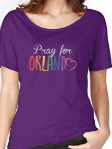 Pray For Orlando One Pulse One Love Women's Relaxed Fit T-Shirt