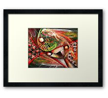 Farniente, featured in Abstract Surreal Art Framed Print