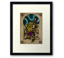 Lucca and Robo, Prints Framed Print