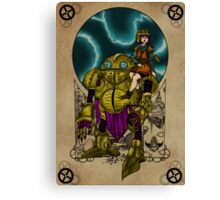 Lucca and Robo, Prints Canvas Print