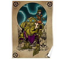 Lucca and Robo, Prints Poster