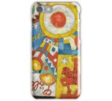 Marsden Hartley - Himmel. Abstract painting: abstract art, geometric, expressionism, composition, lines, forms, creative fusion, spot, shape, illusion, fantasy future iPhone Case/Skin