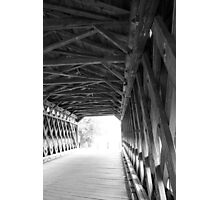 End of the Tunnel Photographic Print