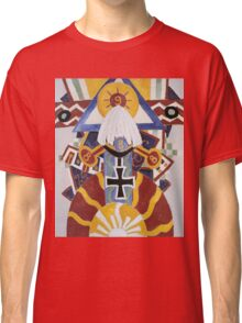 Marsden Hartley - Painting Number 49, Berline. Abstract painting: abstract art, geometric, expressionism, composition, lines, forms, creative fusion, spot, shape, illusion, fantasy future Classic T-Shirt