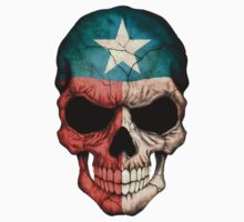 Texas Flag Skull by Jeff Bartels