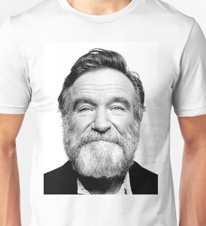 robin williams beard Unisex T-Shirt