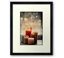 Light My Candles Framed Print