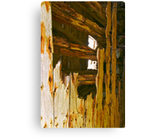 Wooden Shipwrecks Canvas Print
