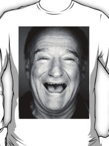 robin williams black and laugh T-Shirt