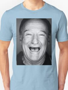 robin williams black and laugh Unisex T-Shirt