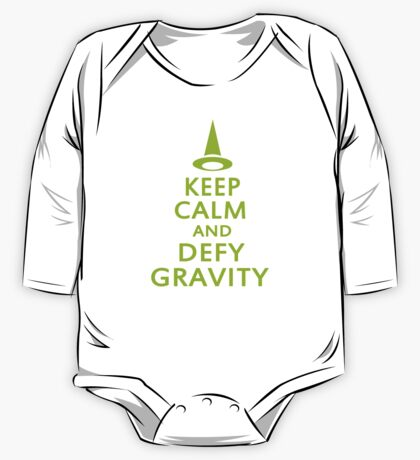 Defy Gravity. Wicked Witch. One Piece - Long Sleeve