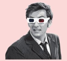 Doctor Who 3-D Glasses One Piece - Long Sleeve