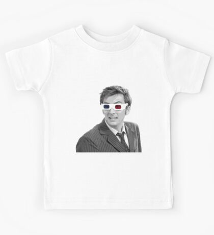 Doctor Who 3-D Glasses Kids Tee
