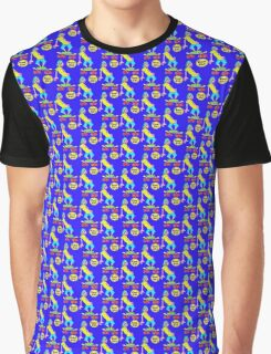Cool Boy on Skateboard Graphic T-Shirt