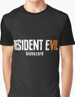 Resident evil 7 Graphic T-Shirt