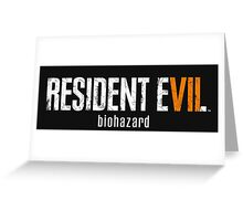 Resident evil 7 Greeting Card