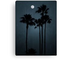 Coastal Moon Canvas Print
