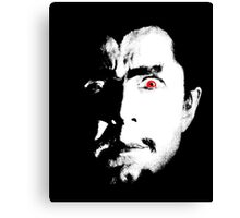 Bela Lugosi master of horror Canvas Print