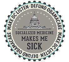 Defund Obamacare Photographic Print
