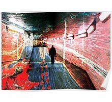 Tunnel Murder Poster