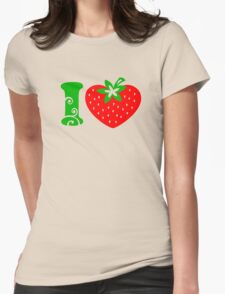 Strawberry Heart - Go Vegan T-Shirt