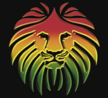 Like a Lion, Reggae, Rastafari, Africa, Jah, Jamaica,  by boom-art