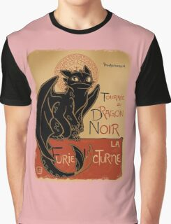 Dragon Noir Graphic T-Shirt